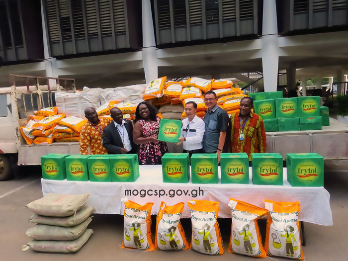 Sentuo Steel Ltd Donates Items To MoGCSP