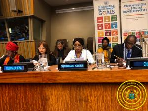 57th Social Development Conference in New York