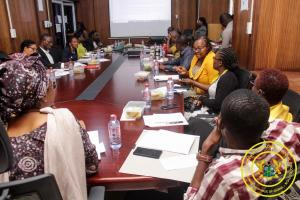 8th Sector Working Group Meeting with Development Partners