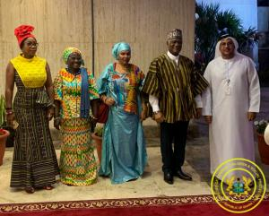 Hon. Cynthia Morrison participates in Ghana's 62nd Independence Celebration Day in Dubai