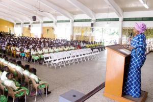 Hon. Minister Cynthia Mamle Morrison attends SHS Girls' Heads of Schools Camp 2019
