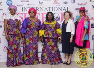 Hon. Minister Cynthia Morrison attends International SHEROES Forum 2019