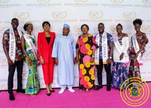 Hon. Minister Cynthia Morrison attends Launch of Miss Ghana 2019