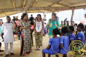 Iinteraction with Haidressers & Beautician Association of Dambai in Oti Region