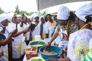 Innovative Cooking Training for Caterers at Kwabre East in Ashanti Region