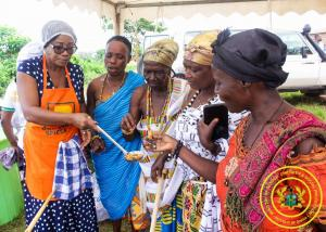 Innovative Nutrition Training Programme [Promoting of Gari into Nutritious Meal] at Kwaman in Agona West Municipality