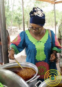 Inspection of School Feeding at the Tongor L.A Primary School in Volta Region