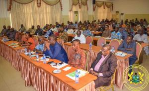 LEAP Sensitisation Workshop for MMDCEs & MMDCDs from Eastern and Volta Regions