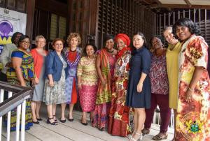 Meeting with Female Ambassadors to Ghana