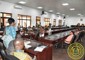Minister addresses National House of Chiefs in Kumasi during 2nd General Meeting