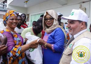 MoGCSP & Direct AID Ghana donate to Muslims of Fadama