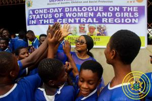 One Day Dialogue on the Status of Women and Girls in Central Region - Krodua