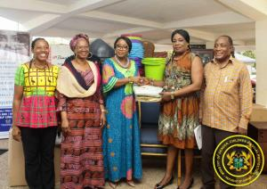Presentation of Assorted Household Items to Human Trafficking Secretariat for Adult Shelter