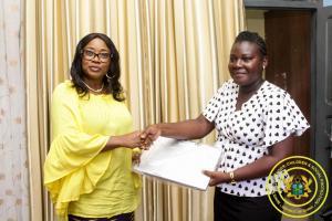 Presentation of Laptops to Social Welfare Officers at Agona Swedru