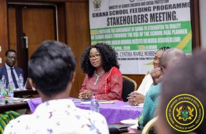 Stakeholders Meeting on Ghana School Feeding Programme