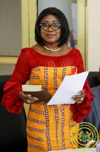 Swearing in of Hon. Cynthia Morrison as Board Member for the AIDS Commission