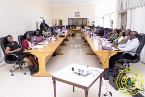 Two-day MoGCSP's Mid-Year Performance Review Meeting