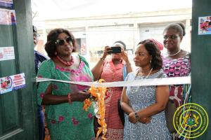 Launch of Rapid Response Centre at Agbogbloshie Market