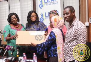 Presentation of Laptops to Social Welfare Officers