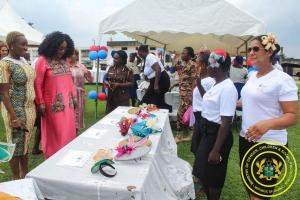 Hon. Minister Cynthia Mamle Morrison attends Nsawam Prison-Milenary Graduation for Female Inmates by Fair Justice Initiative